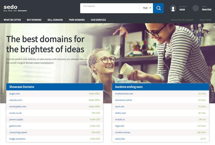 sedo-domain-marketplace