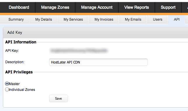 maxcdn api information cdn