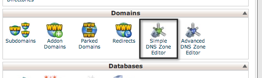simple dns zone editor