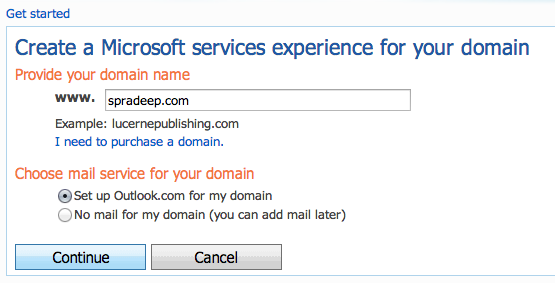 Custom Email Address - Live Domains