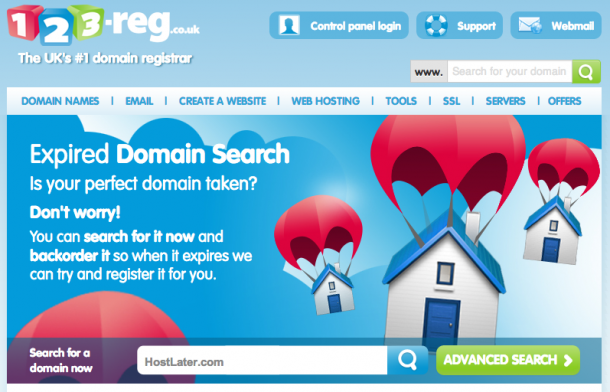 123-Reg Expired Domains