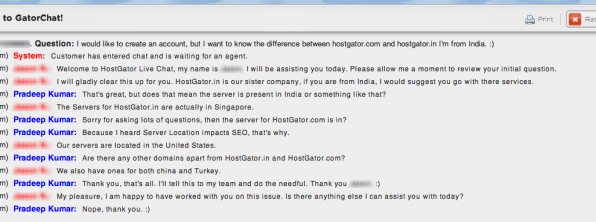 Difference Between HostGator.com & HostGator.in