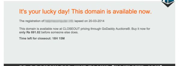 Find Expiring Domain Names