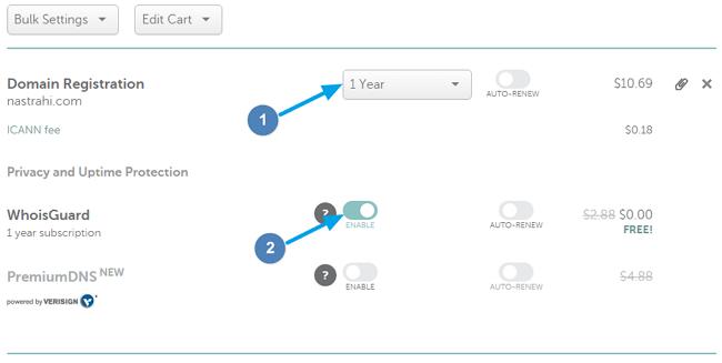 Namecheap Domain Registration