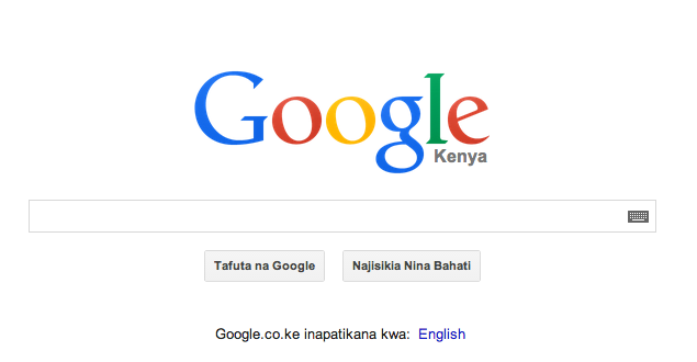 Google.co.ke