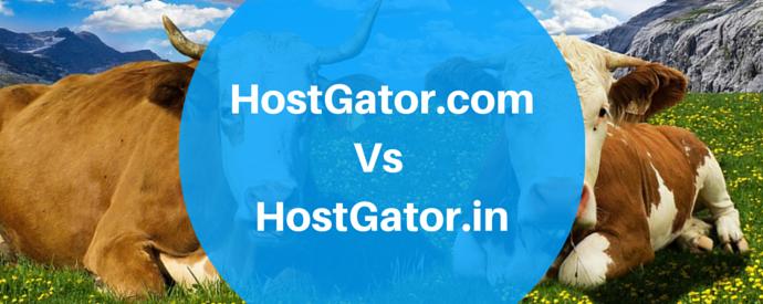 HostGator.com Vs HostGator.in
