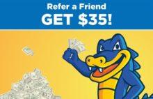 HostGator Refer A Friend Program