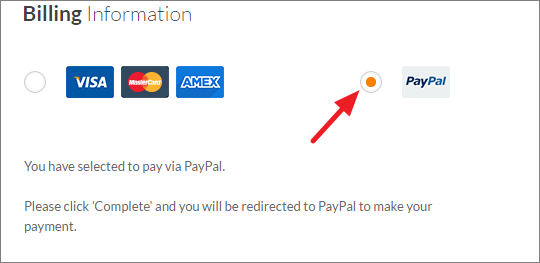 eHost PayPal Payment